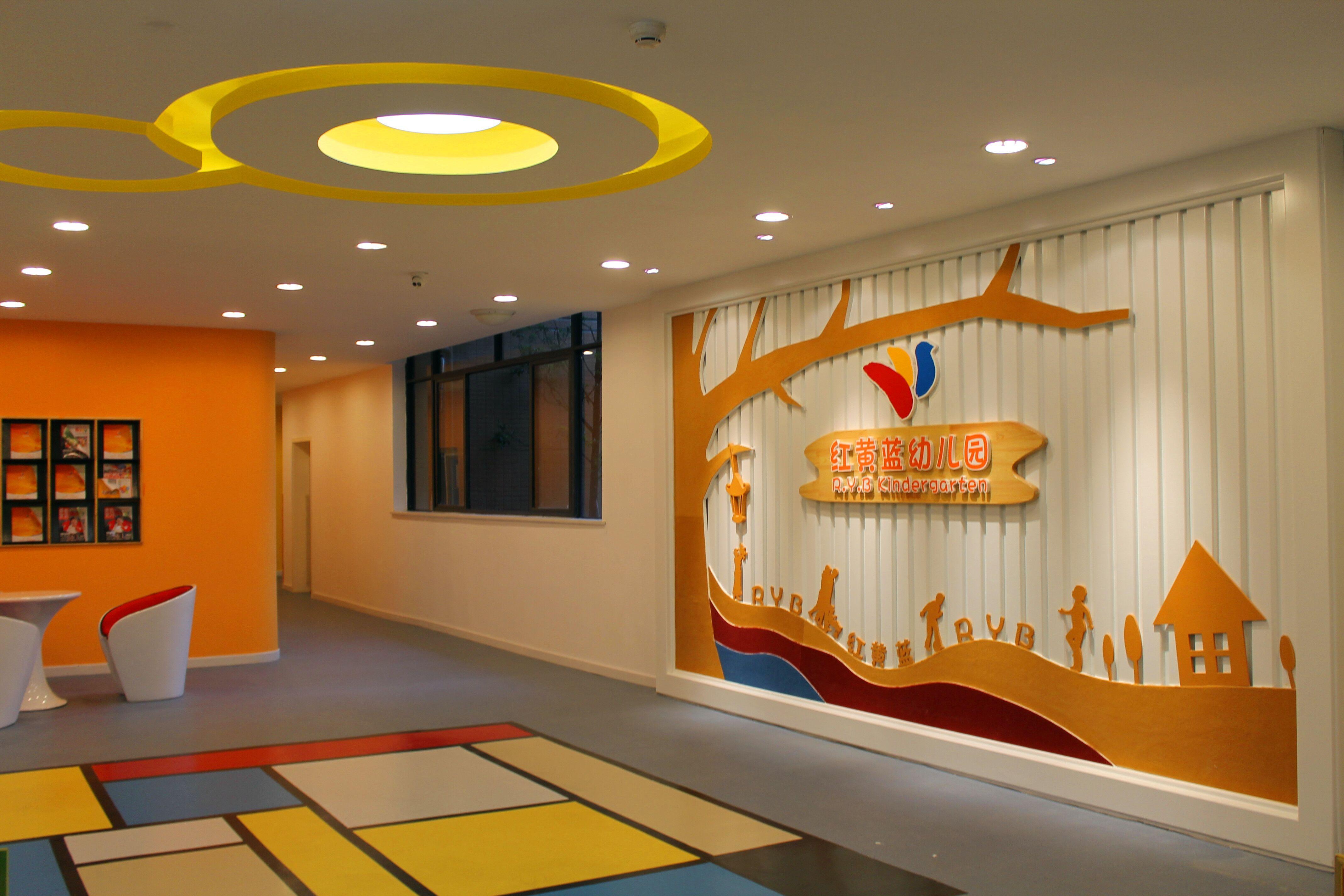 幼儿园大厅一角